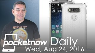 LG V20 leaked renders, Galaxy Note 7 explodes & more - Pocketnow Daily