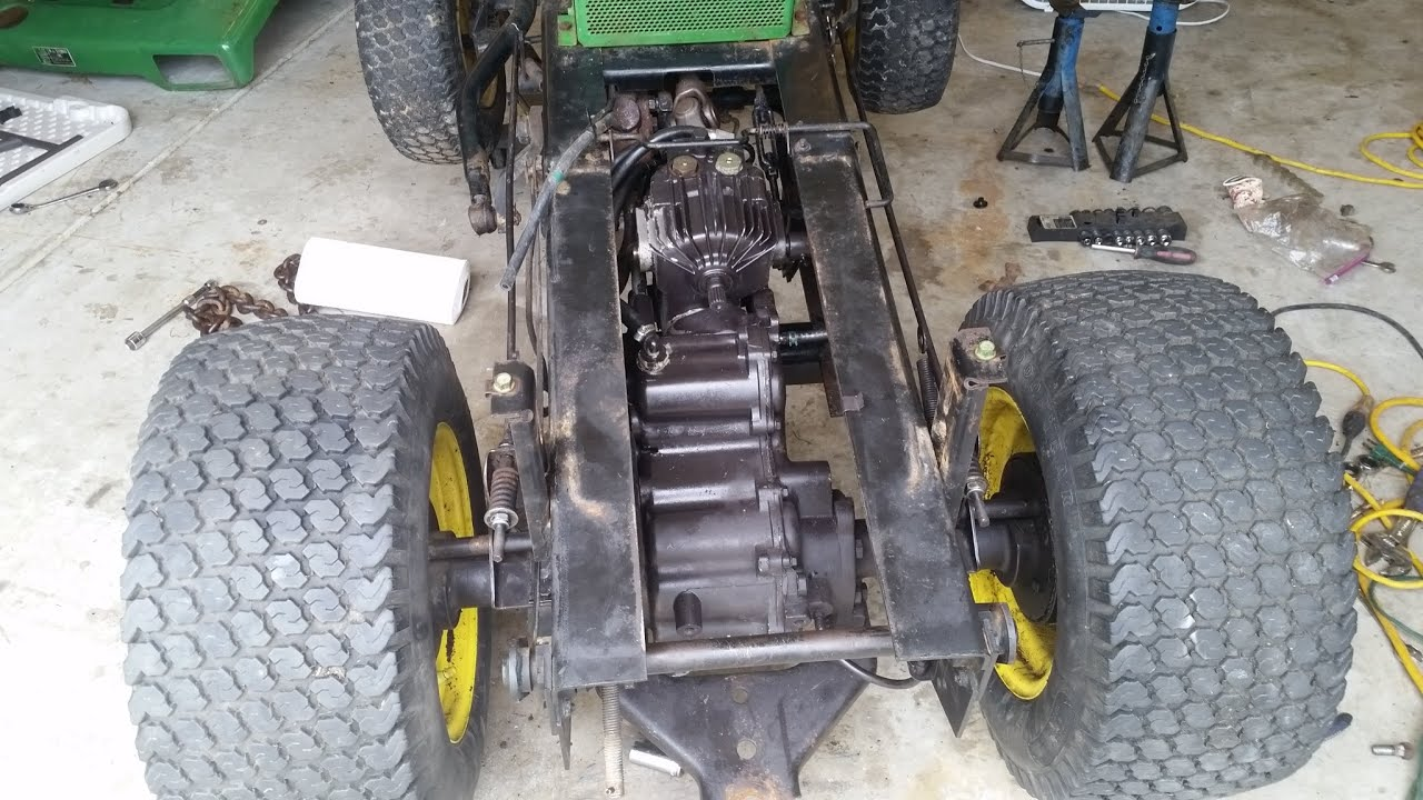 John Deere 316 Project Update - Transmission Swap