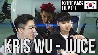 Video KRIS WU - JUICE M/V Korean Reaction (EX-EXO MEMBER?!) download MP3, 3GP, MP4, WEBM, AVI, FLV Maret 2018