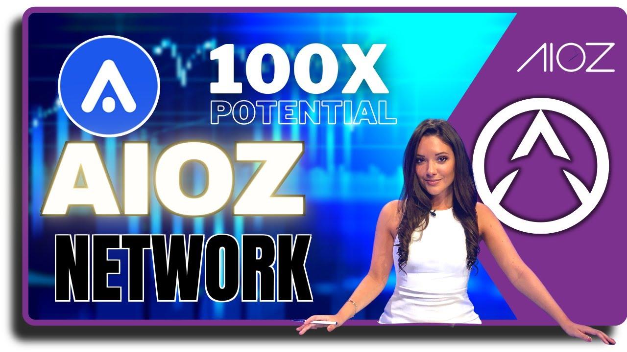 Potential 100x Crypto Sleeping CDN Giant : AIOZ Network 🚀