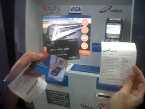 T Money Cara Membeli Tiket Kereta menggunakan VM Medan Kualanamu