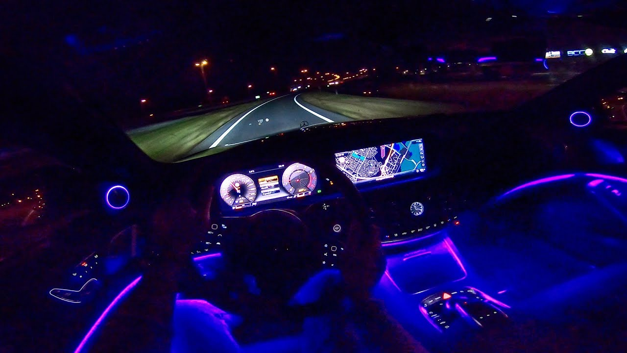 Mercedes Maybach S Cl Night Drive