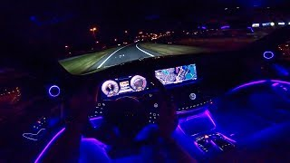 Mercedes-Maybach S Class NIGHT DRIVE POV w/ AMBIENT LIGHTING by AutoTopNL