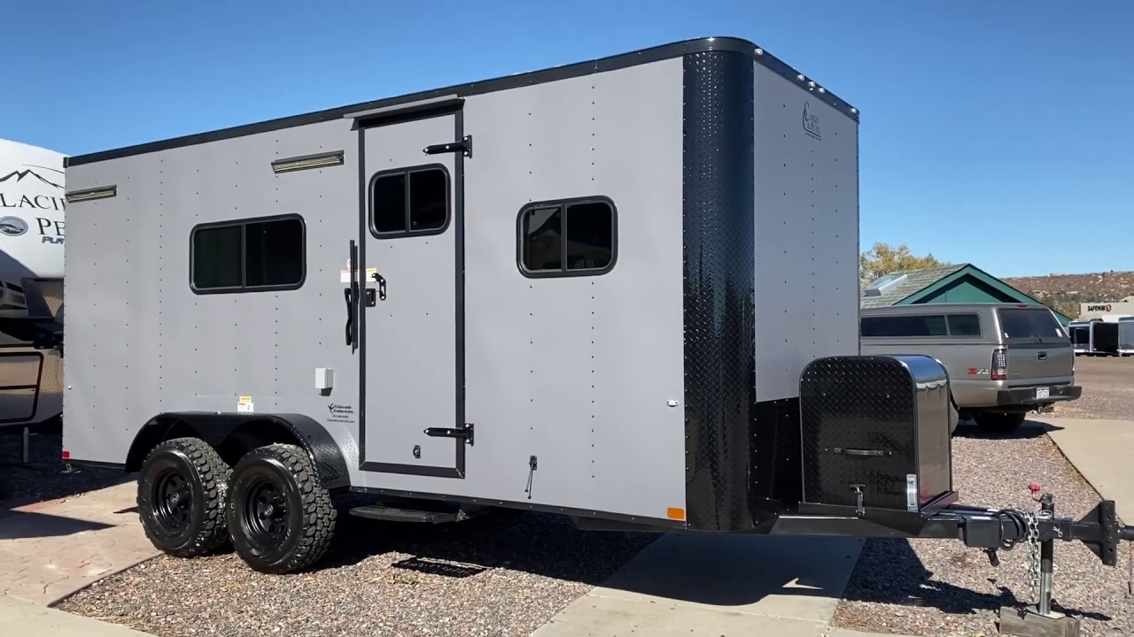 It's Here!!! Off Road Trailer   Off Road Toy Hauler with ...