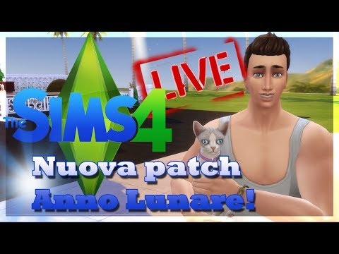 THE SIMS 4 ITA NEWS & INFO IN LIVE!NUOVA PATCH ANNO LUNARE! thumbnail