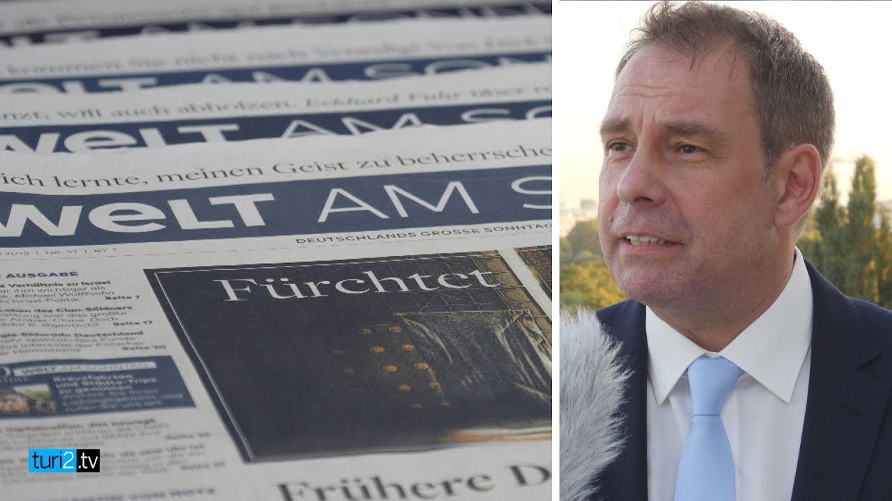 """""""70 ist das neue 20."""" Chefredakteur Peter Huth über den Gesundheitszustand der """"Welt am Sonntag""""."""