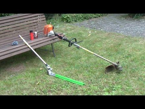 stihl fs85t freischneider mit heckenschere brush cutter with adjustable long reach hedge. Black Bedroom Furniture Sets. Home Design Ideas
