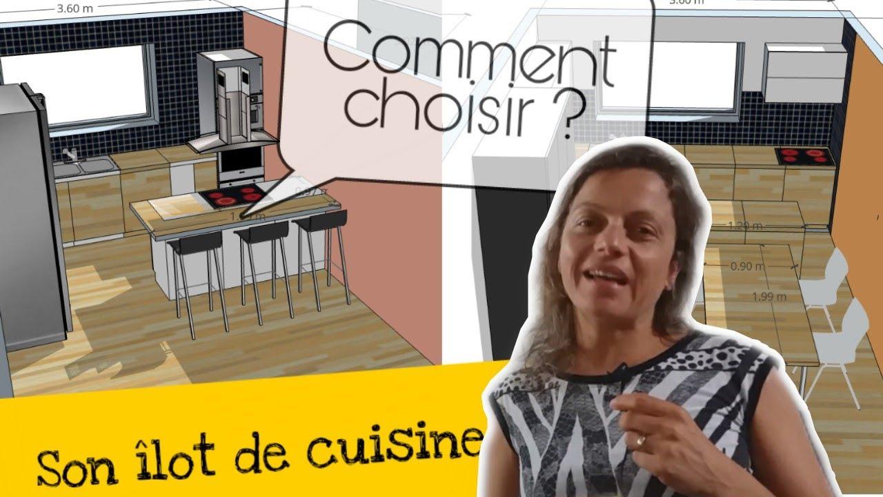 Hauteur D Un Ilot Central De Cuisine Îlot central de cuisine avec bar et/ou table