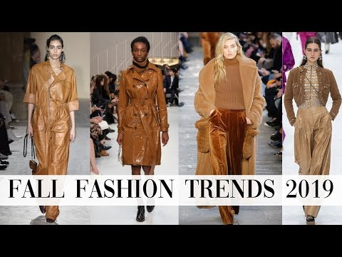 Fashion Clothing Trends for Fall Winter 2019 2020 - YouTube