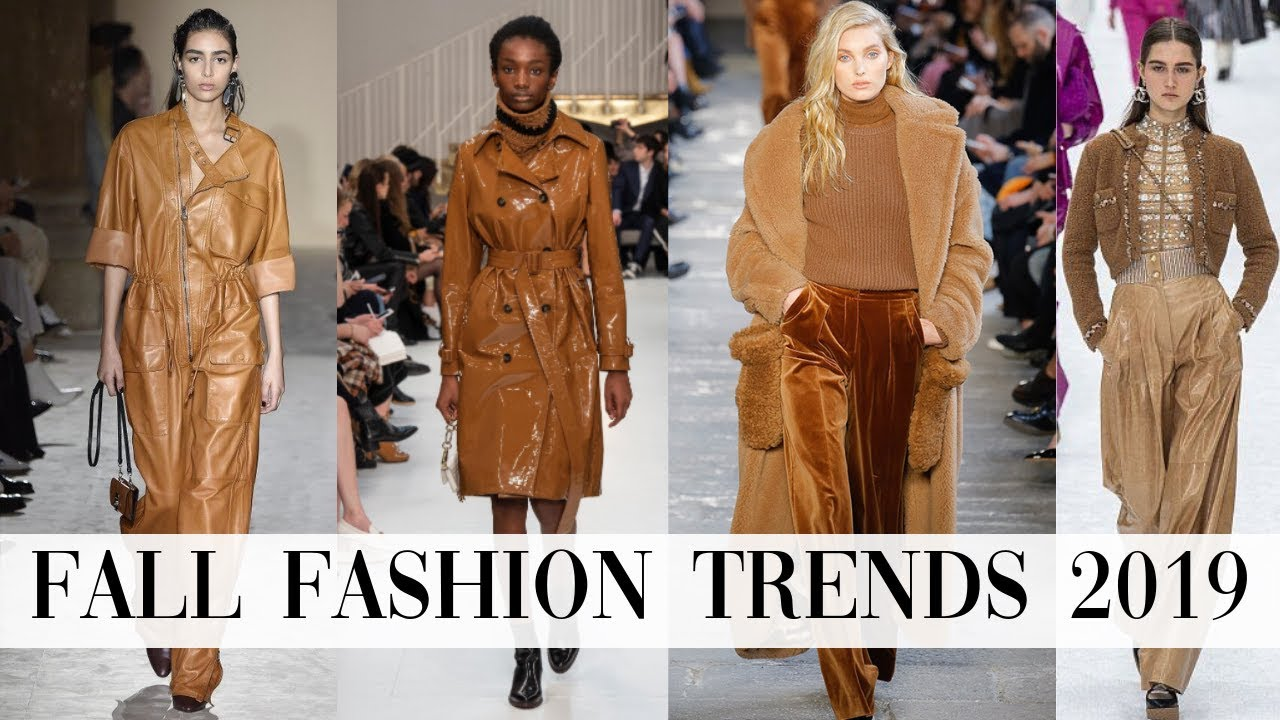 top 10 fall trends 2019  youtube
