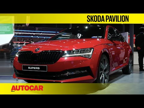 Skoda Octavia RS245, Superb Facelift, Rapid Montecarlo | Walkaround | Autocarindia