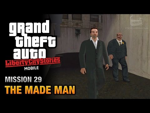GTA Liberty City Stories Mobile - Mission #29 - The Made Man