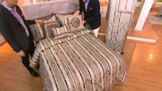 Amadeus Signature Lisette 7 Piece Comforter Set with Alberti Popaj
