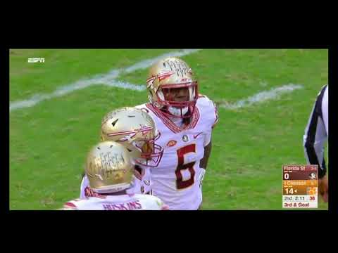 Brian Burns Causes 2nd Fumble at Clemson