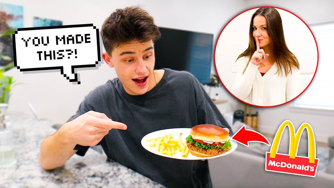 Pranking My Husband With Fast Food VS Home Cooked Meal!!
