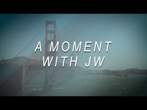 A Moment with JW - Stand Out & Be Different