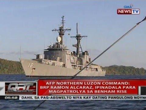 AFP Northern Luzon Command: BRP Ramon Alcaraz, ipinadala para magpatrolya sa Benham Rise