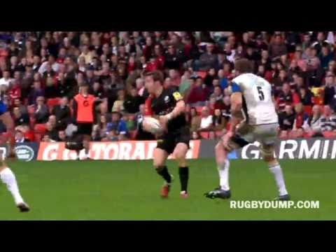 David Strettle's great try against Bath