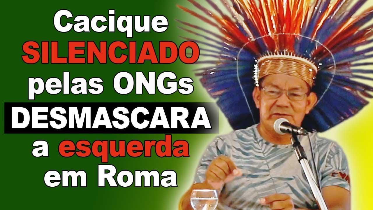 Resultado de imagem para Sínodo da Amazônia: Em Roma, Cacique Macuxi fala Toda a Verdade e Desmascara ONGs