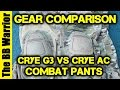 Crye AC Vs. G3 Combat Pants Comparison
