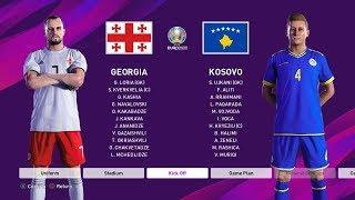 PES 2020 | Georgia vs Kosovo | UEFA EURO - Group Stage Matchday 2
