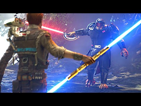 Rough Encounter with Inquisitor 'Ninth Sister' after Fixing my Light Saber. Star Wars: Fallen Order