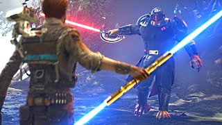 """Rough Encounter with Inquisitor """"Ninth Sister"""" after Fixing my Light Saber. Star Wars: Fallen Order"""