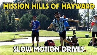 Mission Hills 2018 Slow Motion Drives