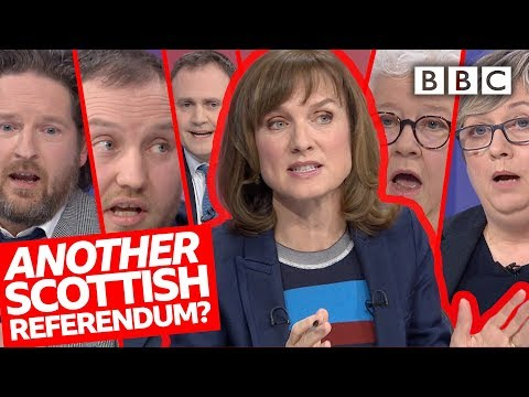 Should there be another Scottish referendum? | Question Time - BBC