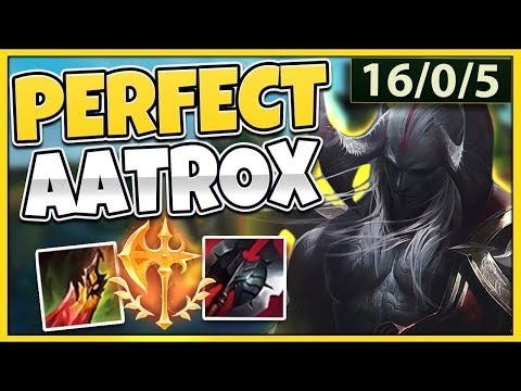 THIS IS HOW YOU PLAY AATROX PERFECTLY IN SEASON 9! AATROX TOP GAMEPLAY - League of Legends