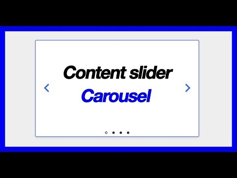 Episode 1: Carousel Slider Control With Navigation And Controls (testimonial Slider, Content Slider)