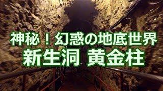 神秘!幻惑の地底世界 新生洞 黄金柱 稲積水中鍾乳洞 4K撮影 20170518 thumbnail