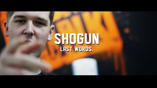 FREE SHOGUN Last Words Freestyle By Shogun @THE_GUN_SHO Produced by...