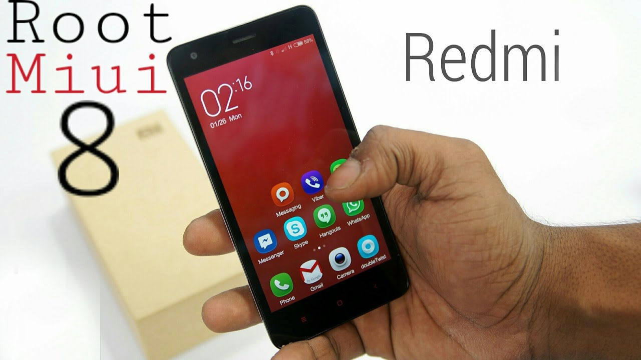 How To Root Miui 8 Without Pc !! Redmi 2 And