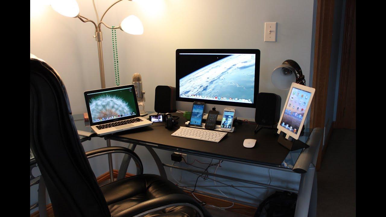 ultimate tech bedroom desk