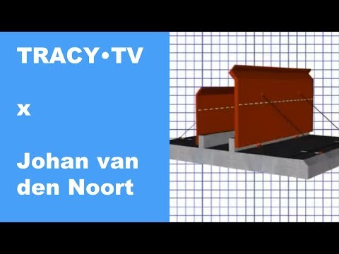 TRACY•TV #42 - Johan van den Noort - Flood control made easy