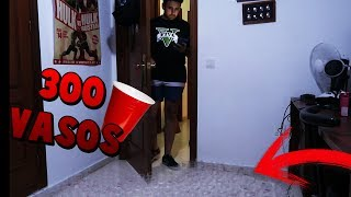 MI PRIMO ME HACE LA BROMA DE LOS 300 VASOS !! (ACABO HUMILLADO) - ElChurches
