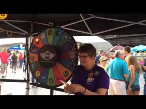 Mini Cooper grand prize drawing at Musikfest