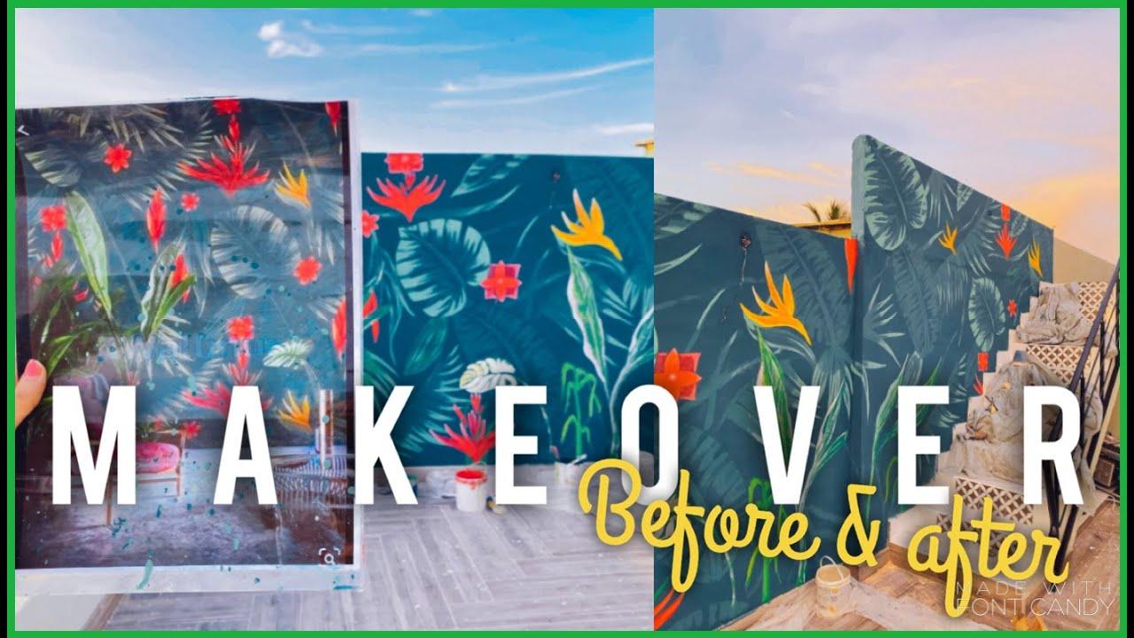 Pinterest Inspired Terrace Makeover! | Anushae Says