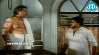Chiranjeevi, Suchitra, Gemini Ganesan Nice Emotional Scene Rudraveena Movie