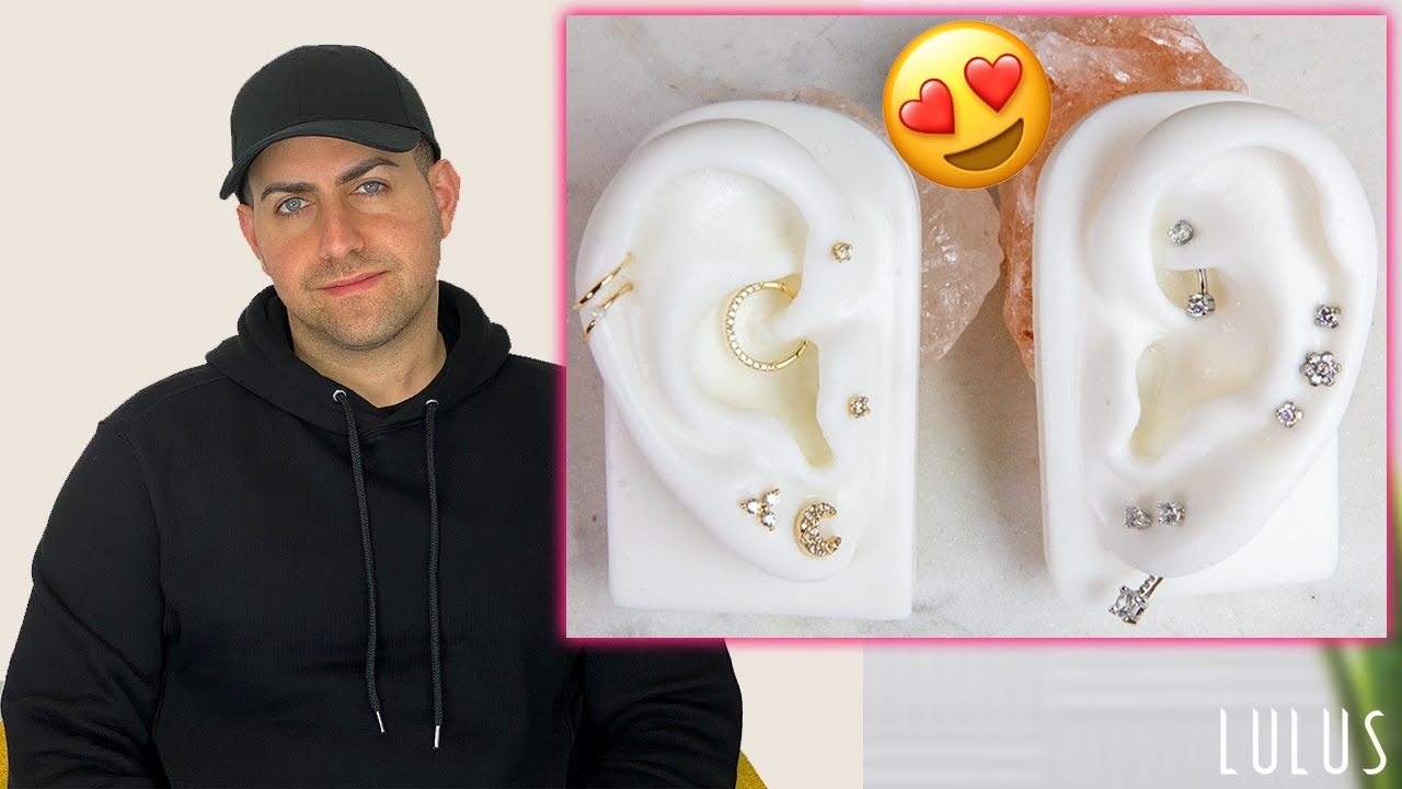 Johnny Shows You How To Mix Match Earrings That Compliment Wow
