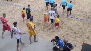 Чемпионат мира по пляжному футболу 2019 Полуфинал Россия и Италия выходят на песок