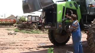 Заправка кондиционера на спецтехнике(оборудование для заправки кодиционера., 2015-05-29T20:50:12.000Z)