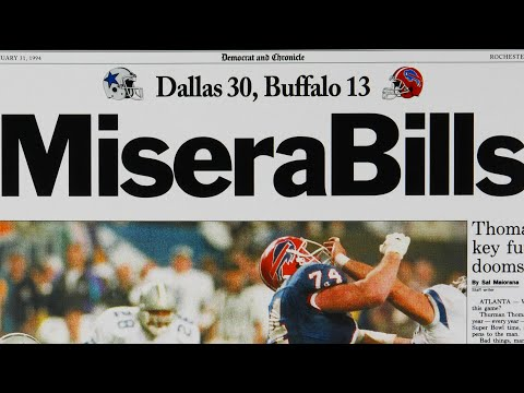 The Buffalo Bills went to 4 Straight Super Bowls: Here's how they lost all of them.