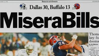 The <b>Buffalo Bills</b> went to 4 Straight Super Bowls