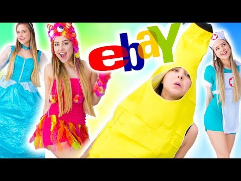 Trying On Halloween Costumes From Ebay
