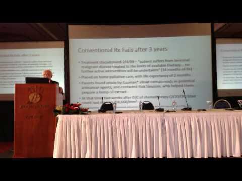 Dr. Jack D. McCue Anti-tumor action of cannabinoids