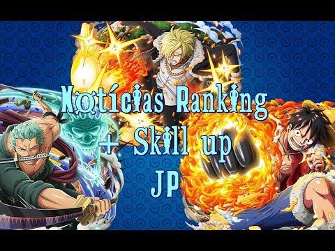 One Piece Treasure Cruise JP l Notícias Ranking + Skill up
