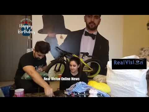 Aditi Rathore birthday segment Zain Imam Adiza Avneil part 3 Exclusive with Real Vision Online News