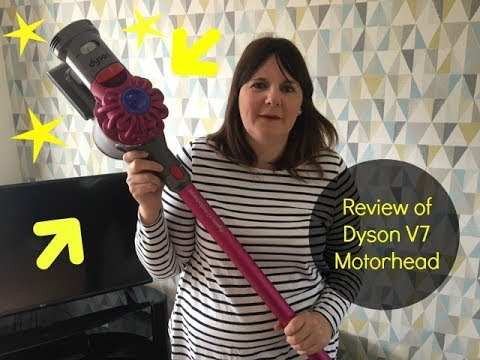 dyson v7 mot rhead review youtube. Black Bedroom Furniture Sets. Home Design Ideas